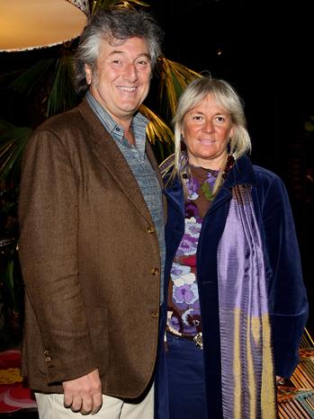 Vittorio Missoni and Maurizia Castiglioni