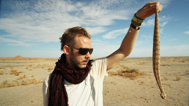 Wild Things with Dominic Monaghan Snake - H 2013
