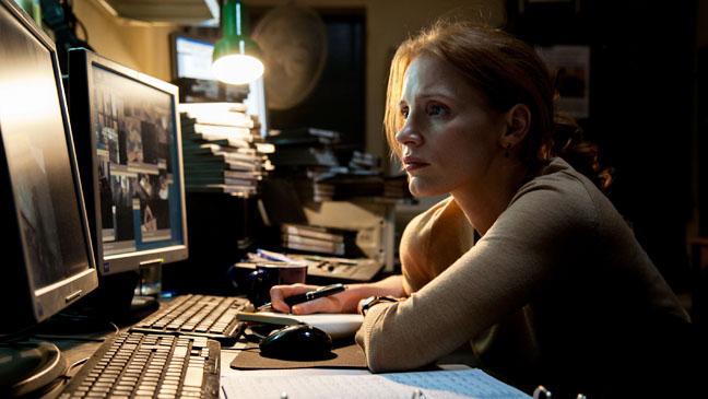 Zero Dark Thirty Jessica Chastain Researching - H 2012