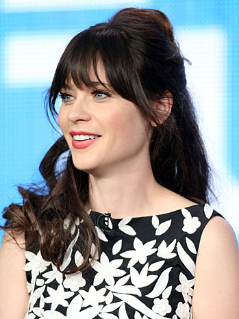 Zooey Deschanel Winter TCA - P 2013