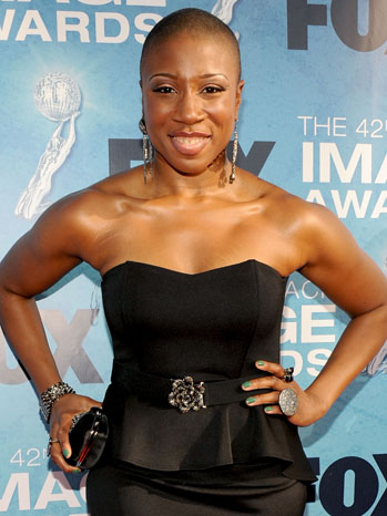 Aisha Hinds NAACP Image Awards - P 2013