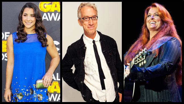 Aly Raisman  Andy Dick Wynonna Judd Split - H 2013