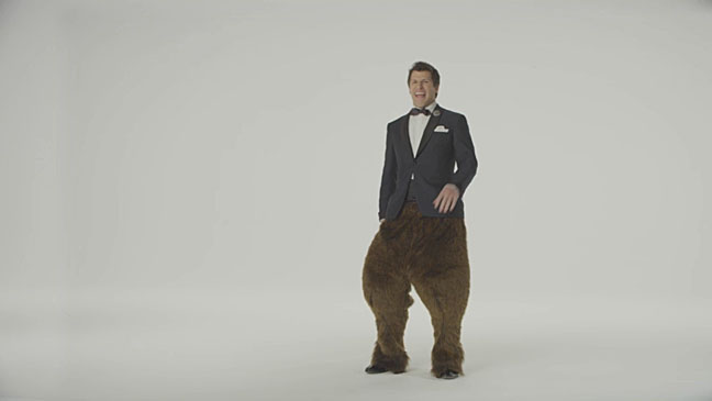 Andy Samberg Bear Legs Spirit Awards - H 2013