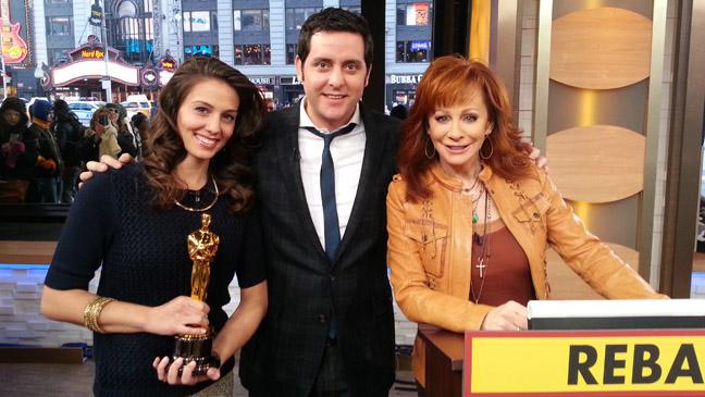 Reba McEntire GMA Oscar - H 2013