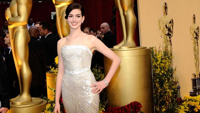 Anne Hathaway Oscars 2009 - H 2013