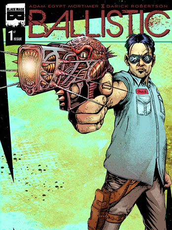 Ballistic Cover Issue 1 - P 2013
