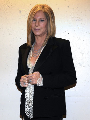 Barbara Streisand Oscars Prep - P 2013