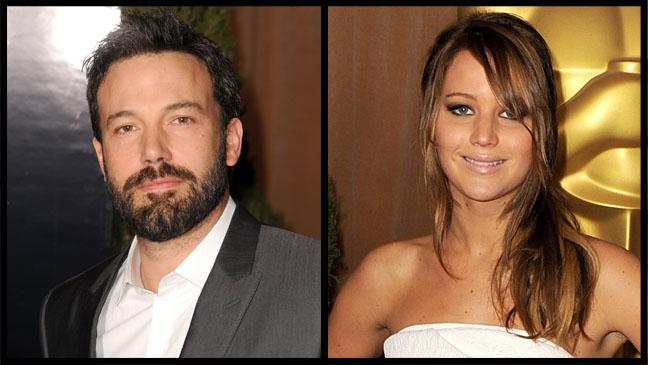 Ben Affleck Jennifer Lawrence Oscars Luncheon - H 2013