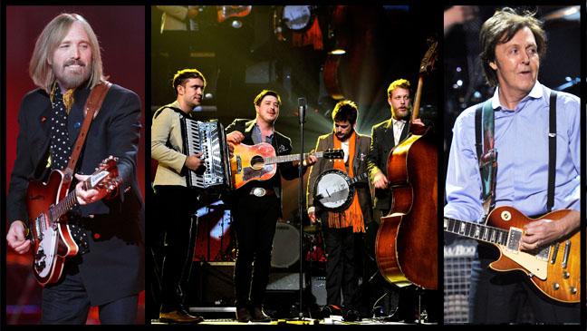 Tom Petty Mumford McCartney Split - H 2012