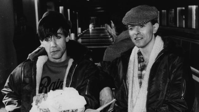 David Bowie Iggy Pop 1977 H