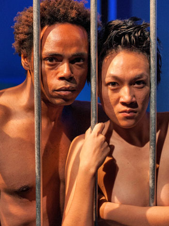 Caged Theater Review - P 2013