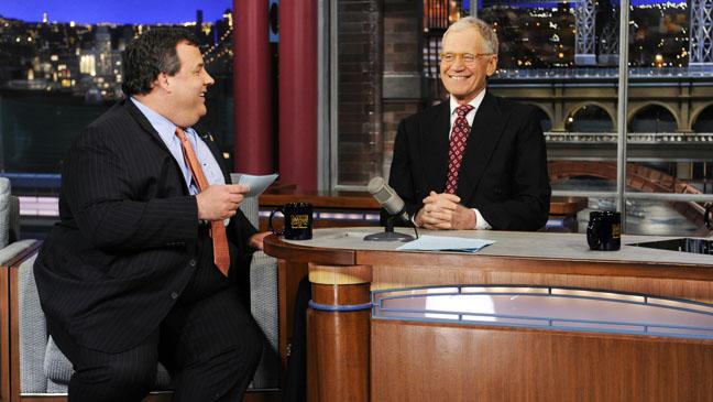 Chris Christie on David Letterman - H 2013