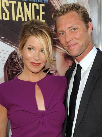 Christina Applegate Martyn LeNoble Going the Distance - P 2013