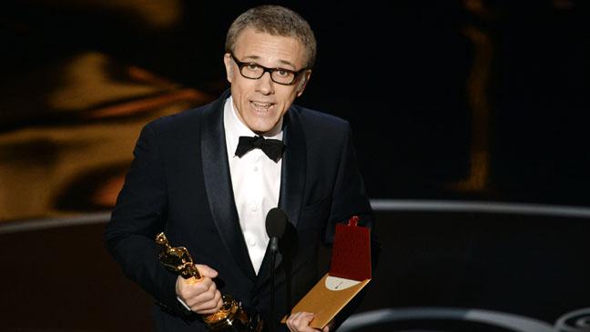 Christoph Waltz Oscar Winner - H 2013