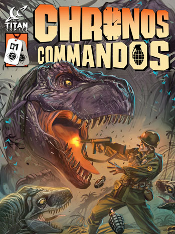 Chronos Commandos Cover - P 2013