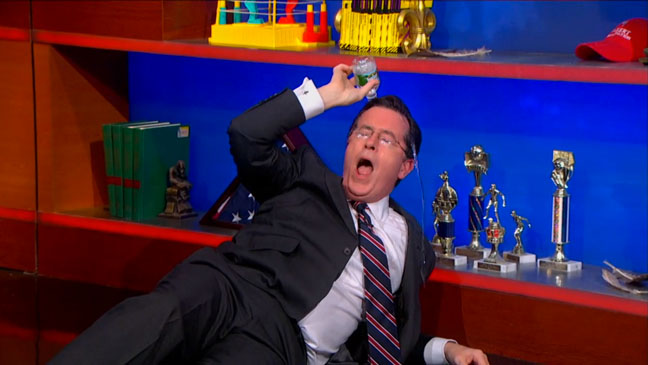 The Colbert Report Desperate for Water - H 2013