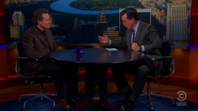 Colbert Report Lawrence Wright - H 2013