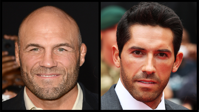 Randy Couture Scott Adkins Split - H 2013