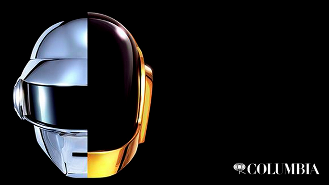 Daft Punk Facebook screen shot L