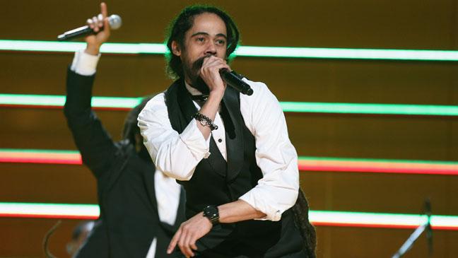 Damian Marley Performing at Grammys - H 2013