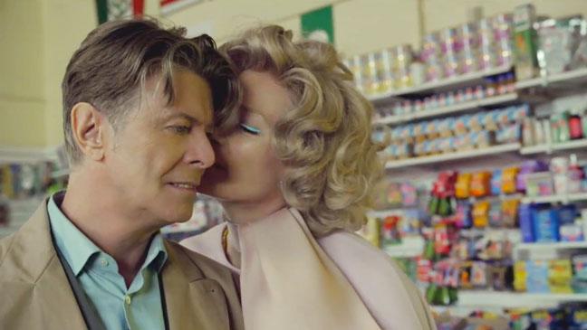 David Bowie Tilda Swinton The Stars Screengrab - H 2013