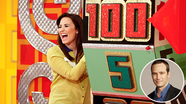 Demi Lovato Price Is Right Mike Richards - H 2013