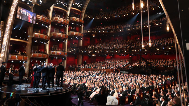 Dolby Theater Oscars Interior - H 2013