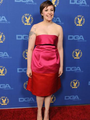 Lena Dunham DGA 2013