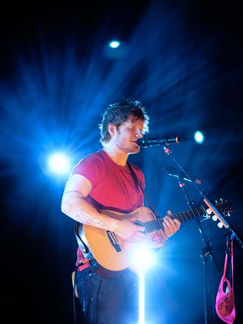 Ed Sheeran at Palladium - P 2013
