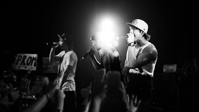 Emblem3 Performing at the Roxy - H 2013