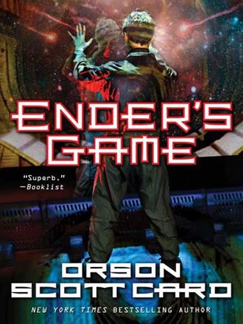 Ender's Game Book Cover - P 2013