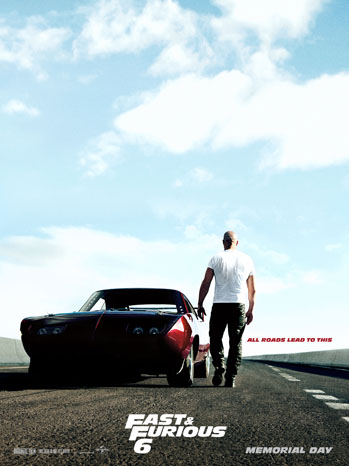 Fast and Furious 6 one sheet - P 2013