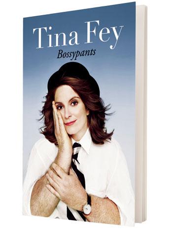 Tina Fey Book Cover - P 2013