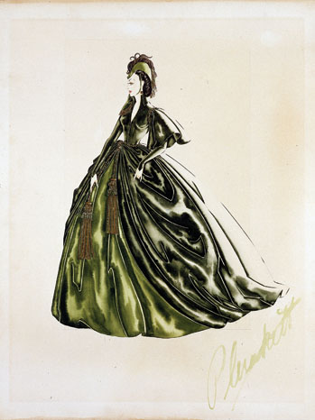 Gone with the Wind Sketch – P 2013