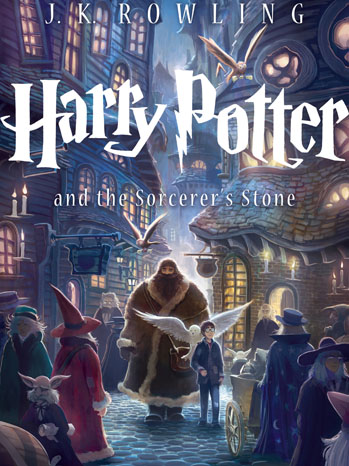 Harry Potter Sorcerer's Stone Cover - P 2013