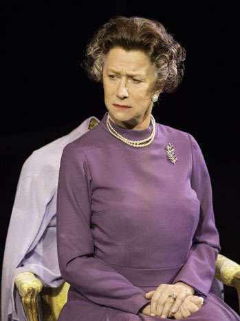 Helen Mirren The Audience Production Still - P 2013