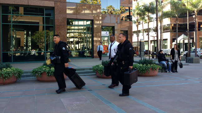 Hollywood Reporter Office Evacuation - H 2013