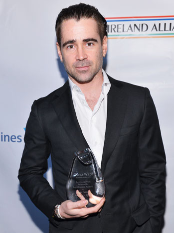 Honoring The Irish In Film Colin Farrell with Award - P 2013