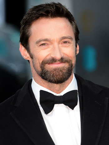 Hugh Jackman Oscars Headshot - P 2013