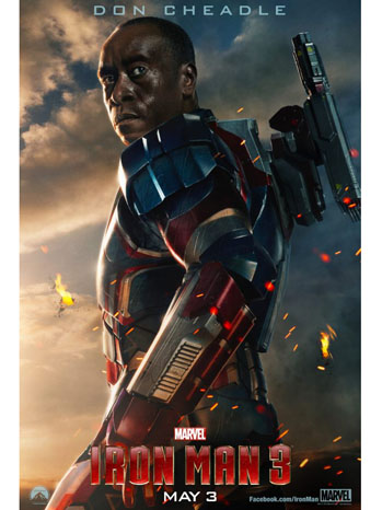Iron Man 3 Poster Art - P 2013