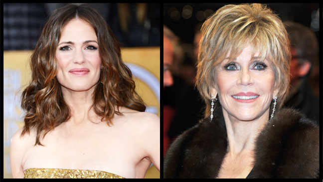 Jennifer Garner Jane Fonda Split - H 2013