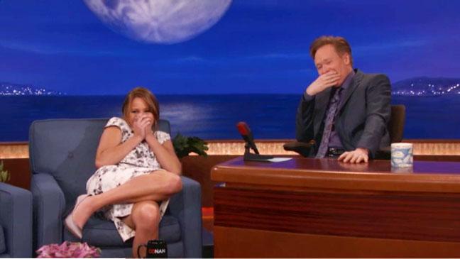Jennifer Lawrence on Conan - H 2013
