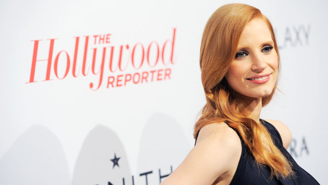 Jessica Chastain THR Nominees Party - H 2013