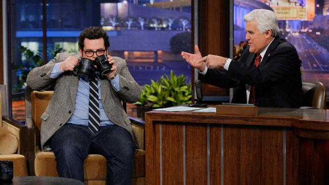 The Tonight Show with Jay Leno Josh Gad - H 2013