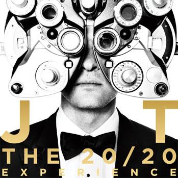 Justin Timberlake 20/20 Album Art - P 2013