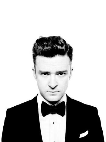 Justin Timberlake suit tie P