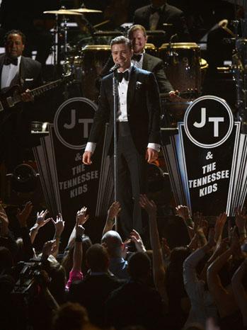 Justin Timberlake Grammy Awards Performance - P 2013