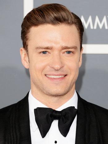 Justin Timberlake Grammy Arrivals - P 2013