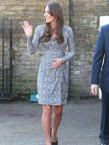 Kate Middleton London Fashion Week - P 2013