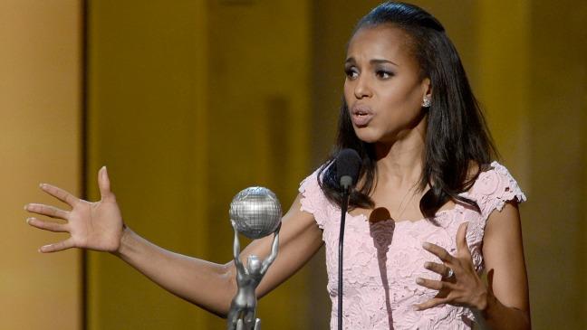 Kerry Washington NAACP Win - H 2013